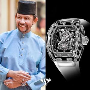 Richard Mille Tourbillon Sapphire RM 56-01