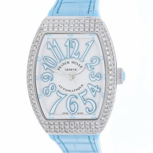 Franck Muller Vanguard 32 V SC AT AC FO D BL - Worldwide Watch Prices Comparison & Watch Search Engine