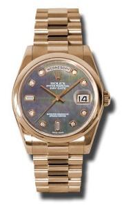 Rolex Day-Date 118205 DKMDP - Worldwide Watch Prices Comparison & Watch Search Engine