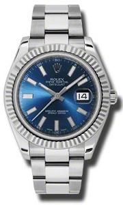 Rolex Datejust II 116334BLSO - Worldwide Watch Prices Comparison & Watch Search Engine