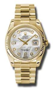 Rolex Day-Date 118238MDP - Worldwide Watch Prices Comparison & Watch Search Engine