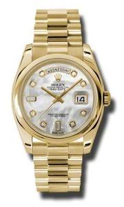 Rolex Day-Date 118208 MDP - Worldwide Watch Prices Comparison & Watch Search Engine