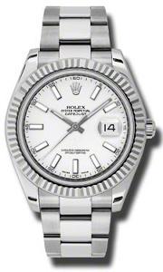 Rolex Datejust II 116334WSO - Worldwide Watch Prices Comparison & Watch Search Engine