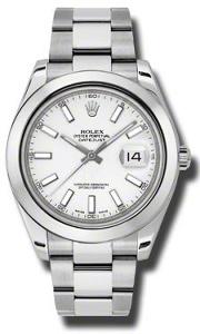 Rolex Datejust II 116300WSO - Worldwide Watch Prices Comparison & Watch Search Engine