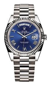 Rolex Day-Date 40 228239 BLRP - Worldwide Watch Prices Comparison & Watch Search Engine