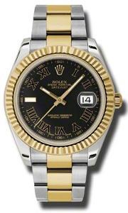 Rolex Datejust II 116333BKRO - Worldwide Watch Prices Comparison & Watch Search Engine