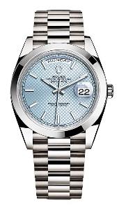 Rolex Day-Date 40 228206IBLSP - Worldwide Watch Prices Comparison & Watch Search Engine