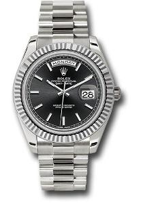 Rolex Day-Date 40 228239 BKSP - Worldwide Watch Prices Comparison & Watch Search Engine