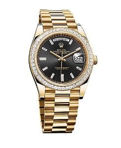 Rolex Day-Date 40 228398 BKDP - Worldwide Watch Prices Comparison & Watch Search Engine