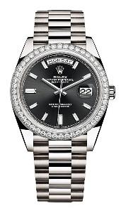 Rolex Day-Date 40 228349BKDP - Worldwide Watch Prices Comparison & Watch Search Engine