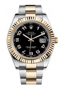Rolex Datejust II 116333BKAO - Worldwide Watch Prices Comparison & Watch Search Engine