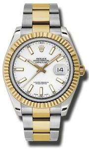 Rolex Datejust II 116333WSO - Worldwide Watch Prices Comparison & Watch Search Engine