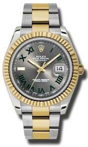 Rolex Datejust II 116333GYRO - Worldwide Watch Prices Comparison & Watch Search Engine