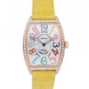 Franck Muller Cintree Curvex 2852 QZ COL D1 5N - Worldwide Watch Prices Comparison & Watch Search Engine