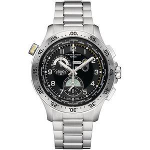Hamilton Khaki Pilot Worldtimer H76714135 - Worldwide Watch Prices Comparison & Watch Search Engine