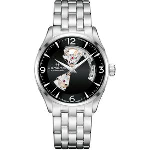 Hamilton Jazzmaster Open Heart H32705131 - Worldwide Watch Prices Comparison & Watch Search Engine