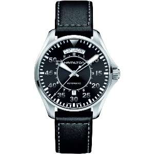 Hamilton Khaki Pilot Day-Date H64615735 - Worldwide Watch Prices Comparison & Watch Search Engine