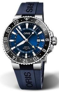 Oris Aquis GMT Date 01 798 7754 4135-07 4 24 65EB - Worldwide Watch Prices Comparison & Watch Search Engine