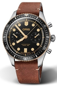 Oris Divers Sixty-Five Chronograph 01 771 7744 4354-07 5 21 45 - Worldwide Watch Prices Comparison & Watch Search Engine