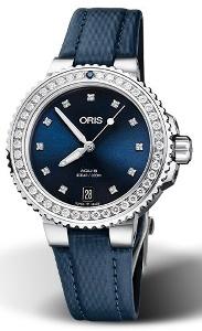 Oris Aquis Date Diamonds 01 733 7731 4995-07 5 18 46FC - Worldwide Watch Prices Comparison & Watch Search Engine