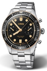 Oris Divers Sixty-Five Chronograph 01 771 7744 4354-07 8 21 18 - Worldwide Watch Prices Comparison & Watch Search Engine