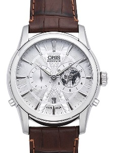 Oris Artelier Greenwich Mean Time Limited Edition 01 690 7690 4081-07 1 22 73FC - Worldwide Watch Prices Comparison & Watch Search Engine