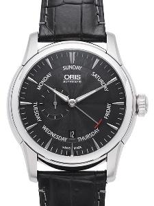 Oris Artelier Small Second Pointer Day 01 745 7666 4054-07 1 23 74FC - Worldwide Watch Prices Comparison & Watch Search Engine