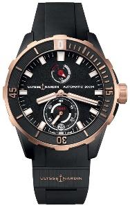 Ulysse Nardin Diver 1185-170-3/BLACK - Worldwide Watch Prices Comparison & Watch Search Engine