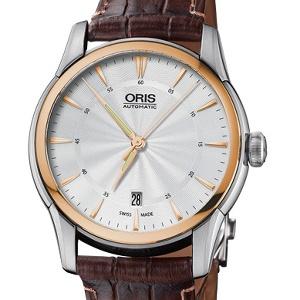 Oris Artelier 01 733 7670 6351-07 5 21 70FC - Worldwide Watch Prices Comparison & Watch Search Engine