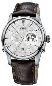 Oris Artelier Greenwich Mean Time Limited Edition 01 690 7690 4081-Set LS Kroko - Worldwide Watch Prices Comparison & Watch Search Engine