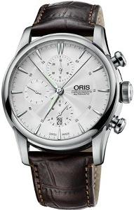Oris Artelier Chronograph 01 774 7686 4051-07 1 23 73FC - Worldwide Watch Prices Comparison & Watch Search Engine