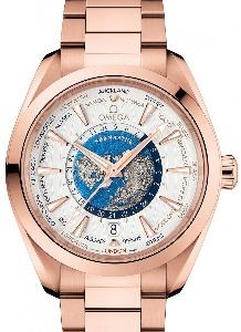 Omega Aqua Terra 150 M GMT 220.50.43.22.02.001 - Worldwide Watch Prices Comparison & Watch Search Engine