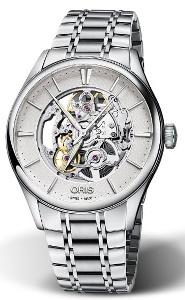 Oris Artelier Skeleton 01 734 7721 4051-07 8 21 88 - Worldwide Watch Prices Comparison & Watch Search Engine