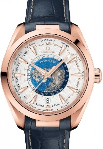 Omega Aqua Terra 150 M GMT 220.53.43.22.02.001 - Worldwide Watch Prices Comparison & Watch Search Engine