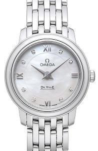 Omega Prestige Quartz Small 424.10.24.60.55.001 - Worldwide Watch Prices Comparison & Watch Search Engine
