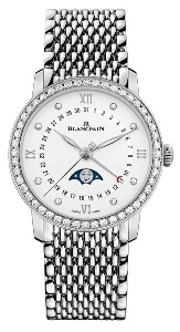 Blancpain Quantième Phases De Lune 6126 4628 MMB - Worldwide Watch Prices Comparison & Watch Search Engine