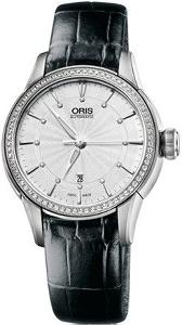 Oris Artelier Date, Diamonds 01 561 7687 4951-07 5 14 60FC - Worldwide Watch Prices Comparison & Watch Search Engine