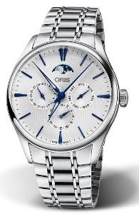 Oris Artelier Complication 01 781 7729 4051-07 8 21 88 - Worldwide Watch Prices Comparison & Watch Search Engine