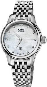 Oris Artelier Date, Diamonds 01 561 7687 4091-07 8 14 77 - Worldwide Watch Prices Comparison & Watch Search Engine