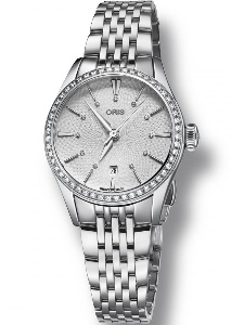 Oris Artelier Diamond Date 561 7722 4951-07-MB - Worldwide Watch Prices Comparison & Watch Search Engine