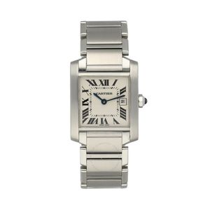 Cartier Tank Francaise 2465 - Worldwide Watch Prices Comparison & Watch Search Engine