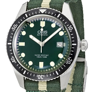 Oris Divers 01 733 7720 4057-07 5 21 24FC - Worldwide Watch Prices Comparison & Watch Search Engine