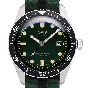Oris Divers 01 733 7720 4057-07 5 21 25FC - Worldwide Watch Prices Comparison & Watch Search Engine