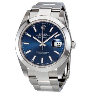 Rolex Datejust 41 126300BLSO - Worldwide Watch Prices Comparison & Watch Search Engine