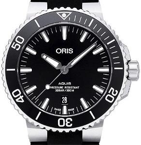 Oris Aquis 01 733 7730 4134-07 4 24 64EB - Worldwide Watch Prices Comparison & Watch Search Engine