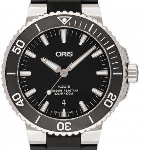 Oris Aquis 01 733 7730 4154-07 4 24 64EB - Worldwide Watch Prices Comparison & Watch Search Engine