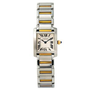 Cartier Tank Francaise 2384 - Worldwide Watch Prices Comparison & Watch Search Engine