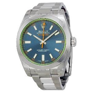 Rolex Milgauss 116400GV Z-BLUE - Worldwide Watch Prices Comparison & Watch Search Engine