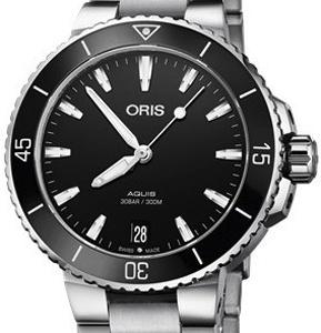 Oris Aquis 01 733 7731 4154-07 8 18 05P - Worldwide Watch Prices Comparison & Watch Search Engine