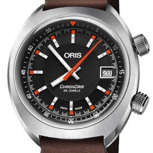 Oris Chrondate 01 733 7737 4054-07 5 19 45 - Worldwide Watch Prices Comparison & Watch Search Engine